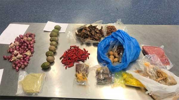 Phụ nữ Việt bị chặn ở sân bay Australia vì va li có thịt, tỏi-1