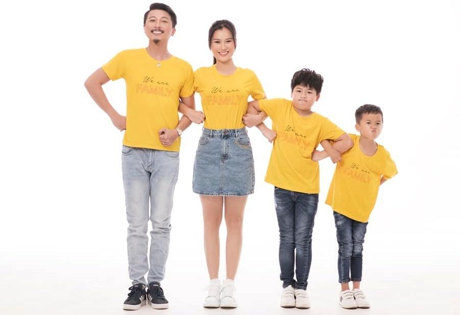 Vợ chồng Hứa Minh Đạt, Lâm Vỹ Dạ khoe hai con trai kháu khỉnh-1