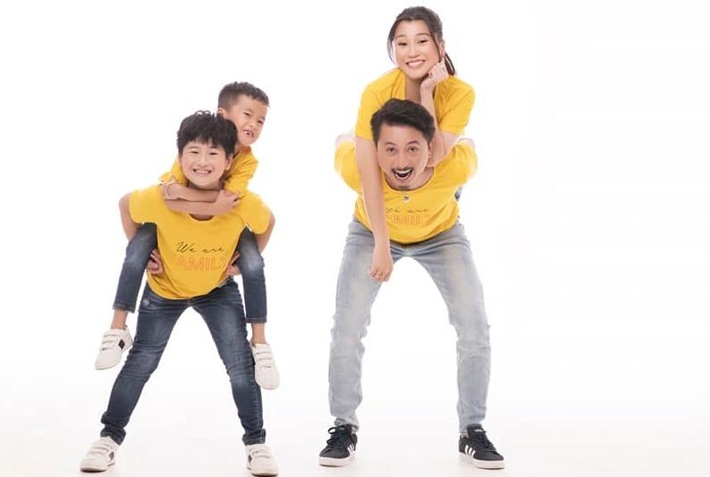 Vợ chồng Hứa Minh Đạt, Lâm Vỹ Dạ khoe hai con trai kháu khỉnh-3