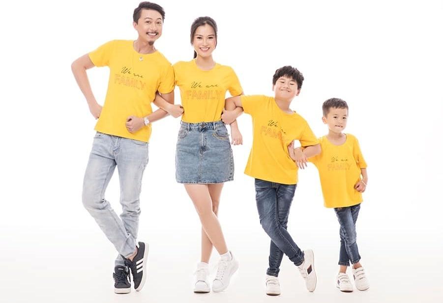 Vợ chồng Hứa Minh Đạt, Lâm Vỹ Dạ khoe hai con trai kháu khỉnh-6