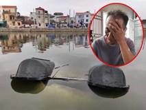 Tang thương gia đình có 2 bé gái chết đuối trong lúc chơi đạp vịt ở Hà Nội: