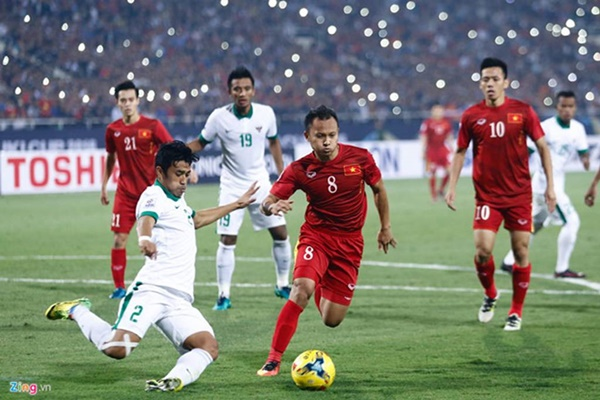 Việt Nam vẫn xếp sau Thái Lan sau trận thắng Indonesia-43