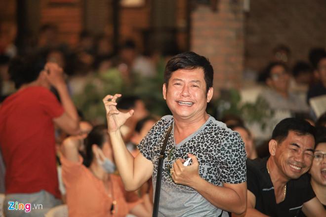 Diễn viên Lý Hùng, Tấn Beo và nhiều nghệ sĩ vỡ òa khi Duy Mạnh ghi bàn-5