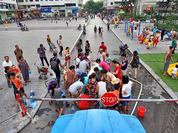 Người già, trẻ nhỏ tại khu đô thị HH Linh Đàm bị tiêu chảy, bệnh ngoài da nghi do sử dụng nước từ nhà máy Sông Đà-1
