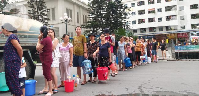 Hà Nội: Cấp nước sạch miễn phí cho toàn bộ người dân khu vực bị ảnh hưởng từ đầu nguồn Sông Đà-1