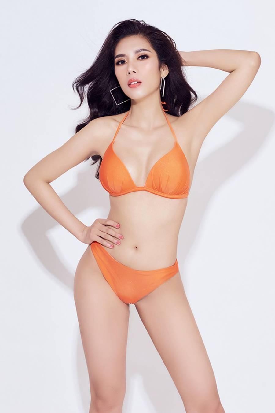 Đại diện Việt Nam tại Hoa hậu Du lịch thế giới 2019 nóng bỏng mắt với bikini-5