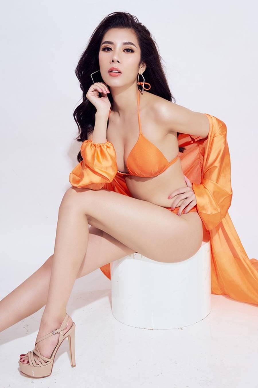 Đại diện Việt Nam tại Hoa hậu Du lịch thế giới 2019 nóng bỏng mắt với bikini-9