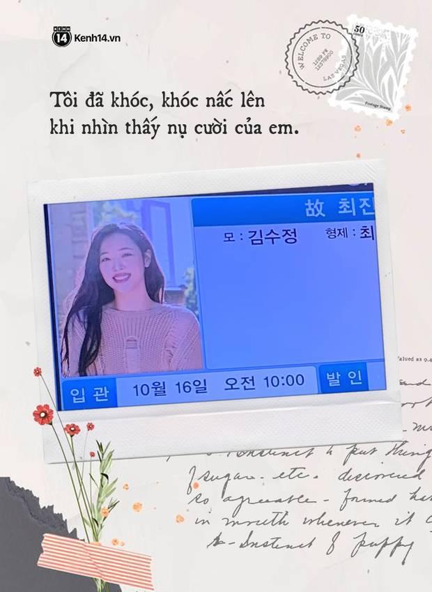 Nhật ký hành trình của một fan Việt đến Hàn Quốc: Tôi đã bật khóc trước di ảnh của em. Tạm biệt nhé, Sulli bé nhỏ!-4