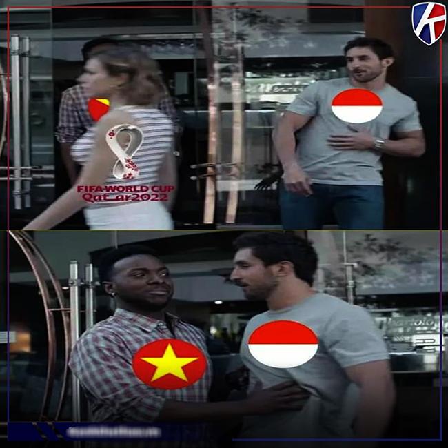 Cộng đồng mạng hả hê chế ảnh Việt Nam hạ đẹp Indonesia-8