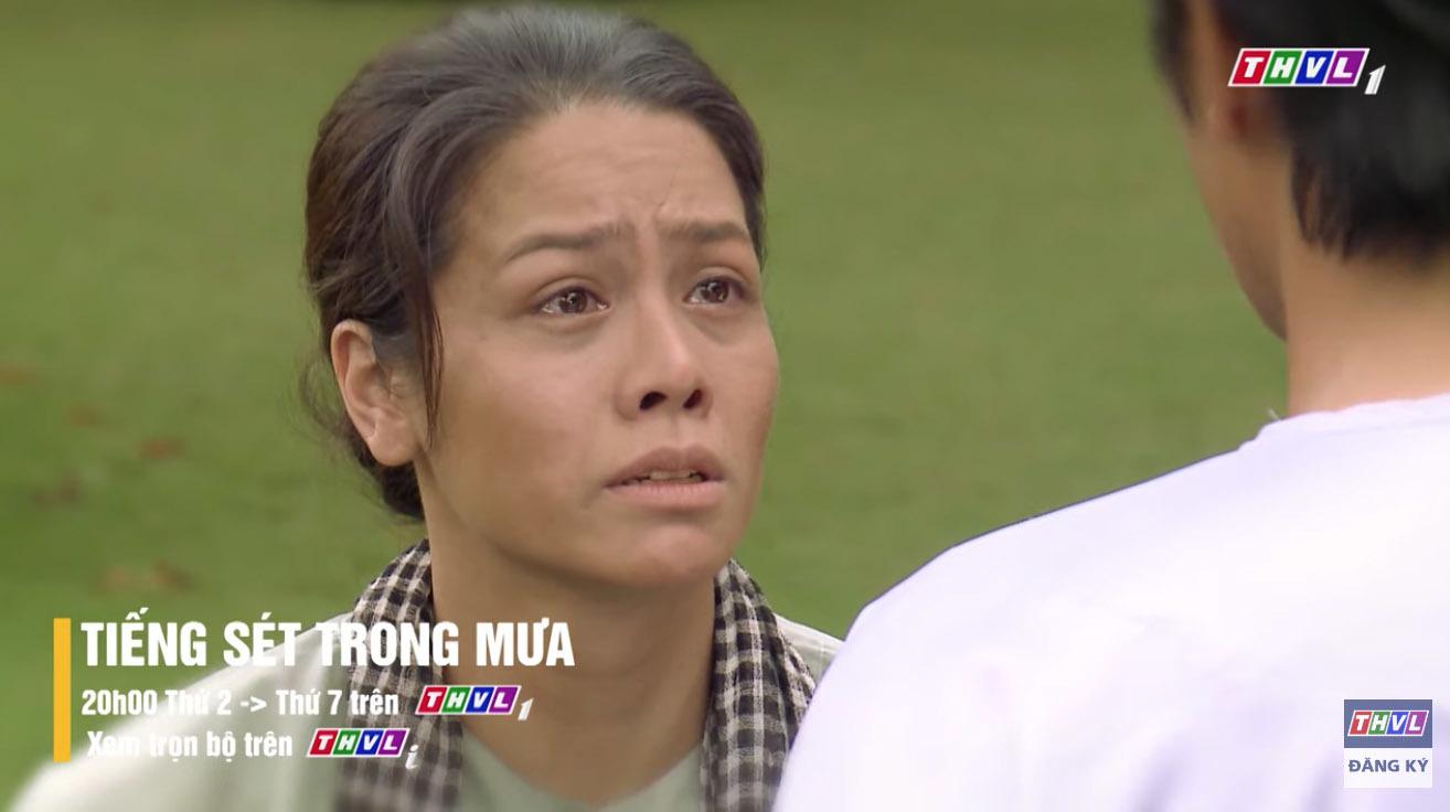 Tiếng sét trong mưa tập 39: Thị Bình nghẹn ngào gặp lại con trai sau 24 năm-1