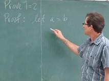 Giải được bài toán cực kỳ phi lý