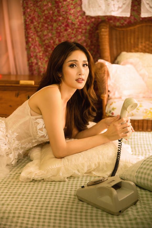 Vợ hai của cậu Ba Khải Duy - Thảo Trang khoe vòng một căng đầy trong bộ ảnh mới-11