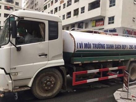 Xác định nguyên nhân nước cấp cho cư dân khu đô thị Linh Đàm có mùi tanh, màu