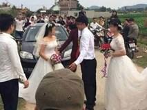 """Đúng giờ cử hành hôn lễ, chú rể hoảng hồn thấy 2 cô dâu xuất hiện cùng lúc và sự thật được phanh phui khiến cả hôn trường """"mắt tròn mắt dẹt"""""""