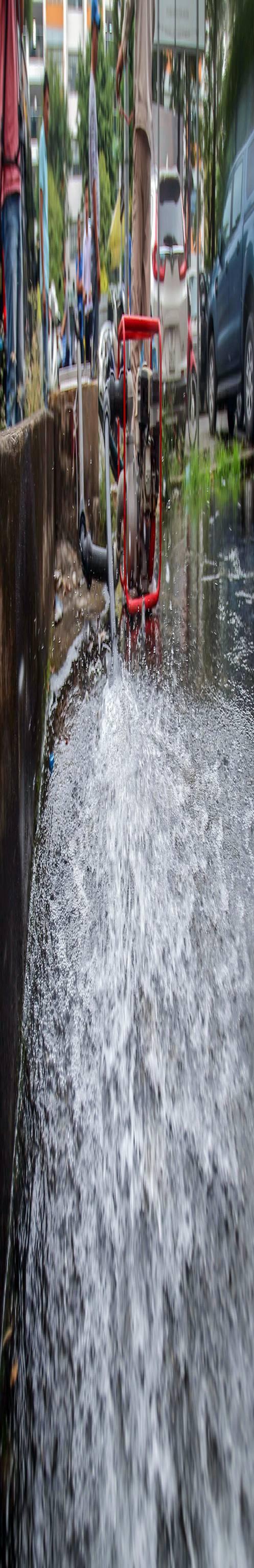 Cuộc sống người Hà Nội đảo lộn trong cơn khủng hoảng nước-34