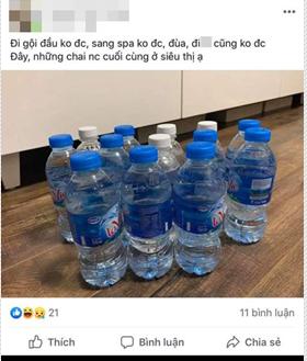 Hà Nội những ngày thiếu nước sạch: Dân công sở cắm rễ tại văn phòng, cư dân xuống hồ bơi để giặt giũ, lấy nước sinh hoạt-6