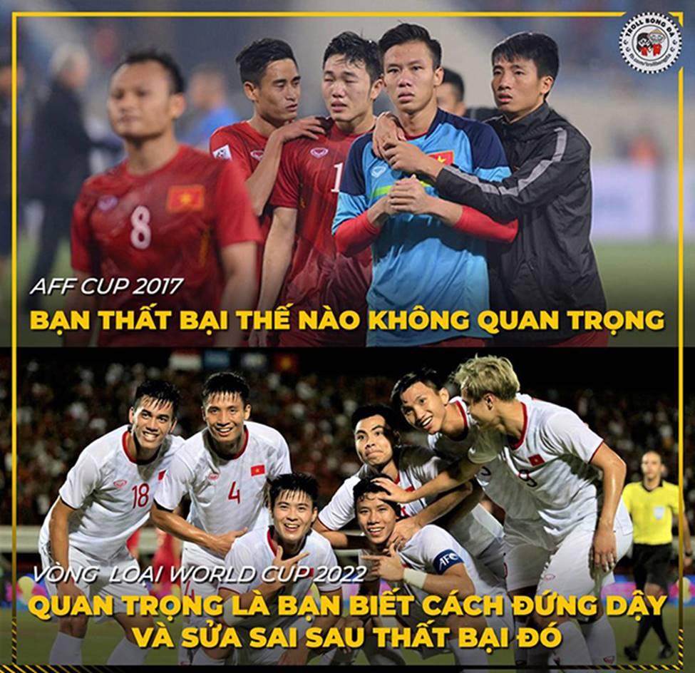 Ảnh chế: Thua Việt Nam, Indonesia mở kho điểm tại vòng loại World Cup 2022-3