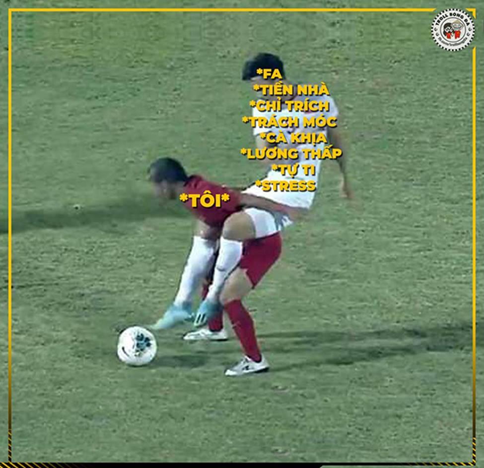 Ảnh chế: Thua Việt Nam, Indonesia mở kho điểm tại vòng loại World Cup 2022-11