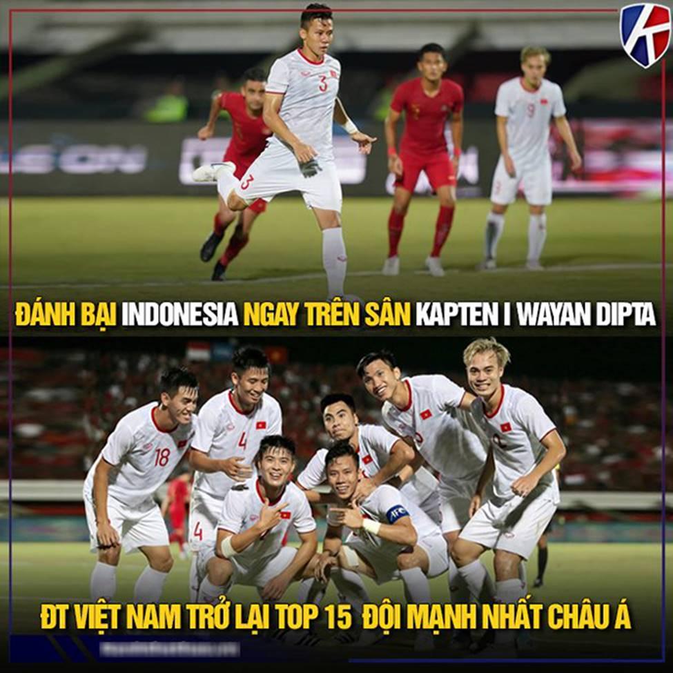 Ảnh chế: Thua Việt Nam, Indonesia mở kho điểm tại vòng loại World Cup 2022-13
