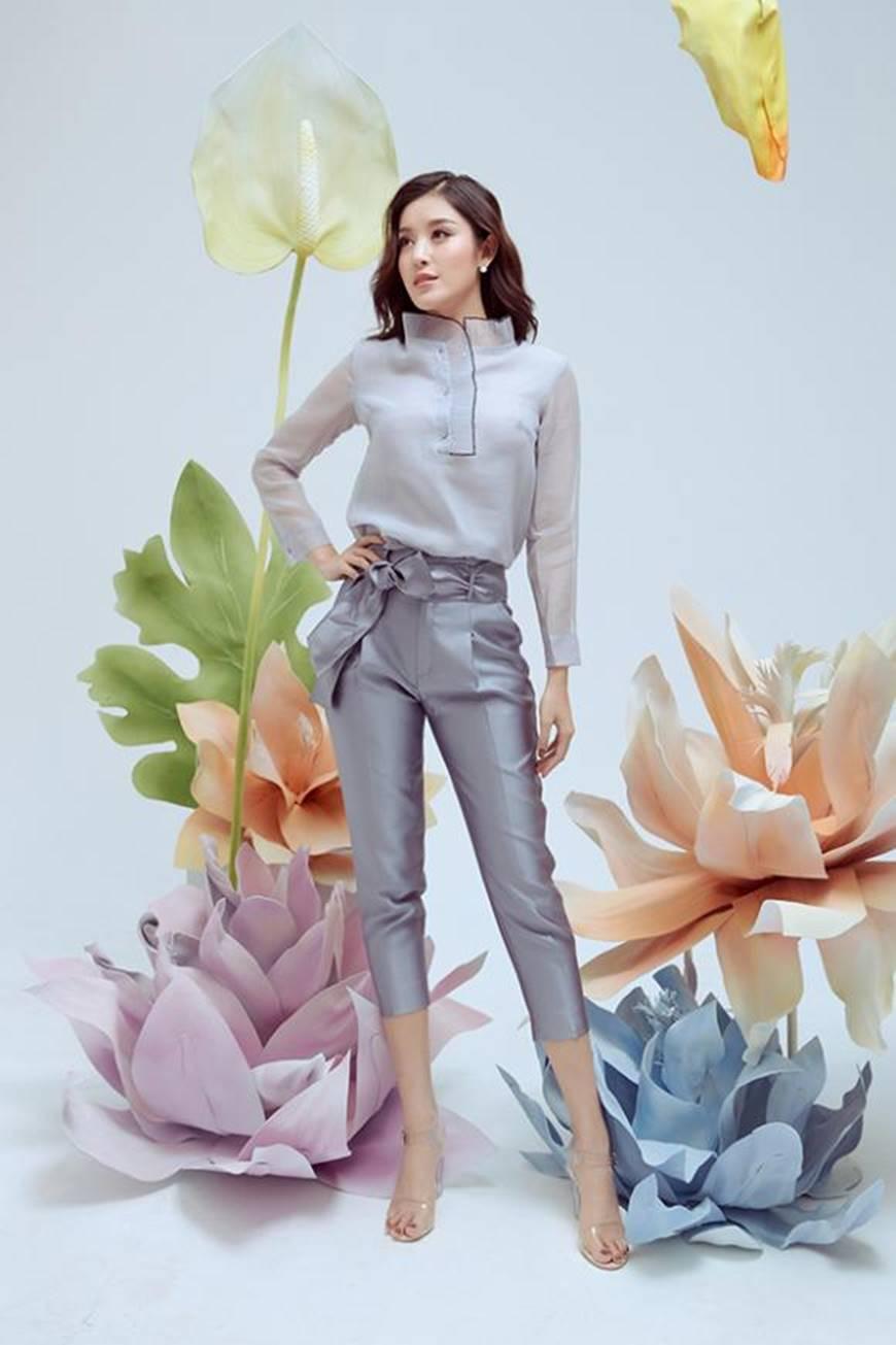 Huyền My thanh lịch ngọt ngào với bộ ảnh nhân ngày Phụ nữ Việt Nam-2