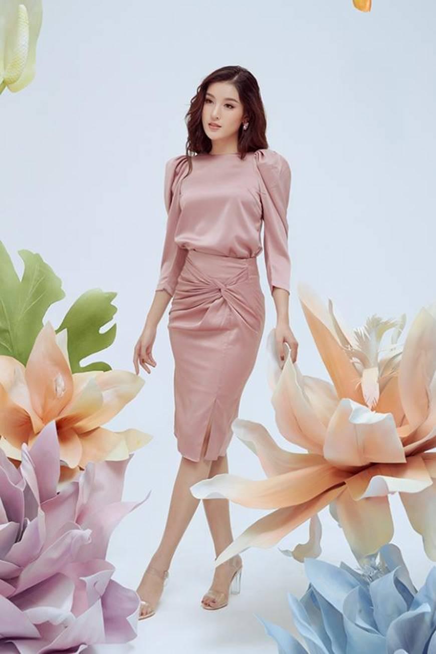 Huyền My thanh lịch ngọt ngào với bộ ảnh nhân ngày Phụ nữ Việt Nam-6