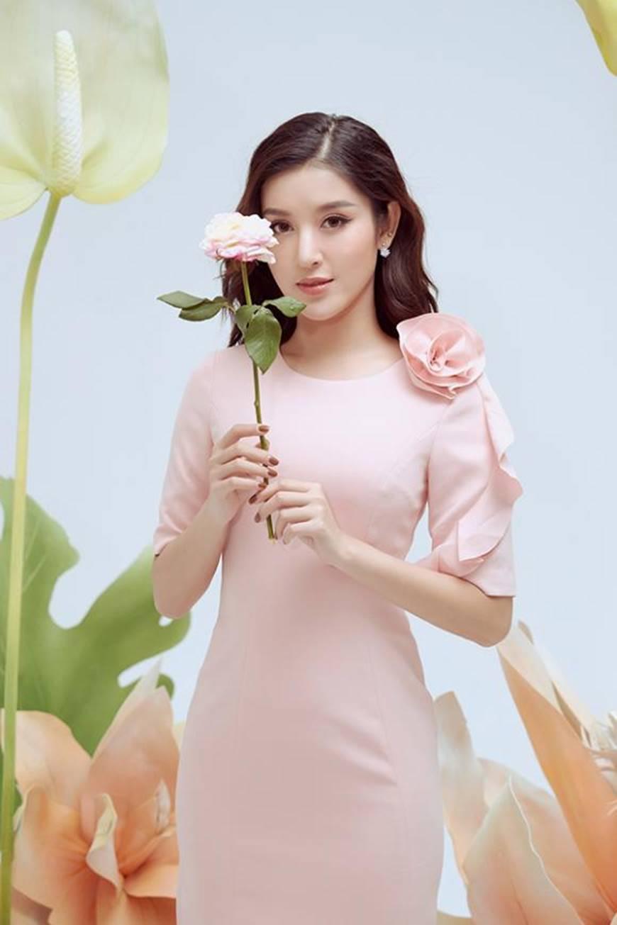 Huyền My thanh lịch ngọt ngào với bộ ảnh nhân ngày Phụ nữ Việt Nam-9