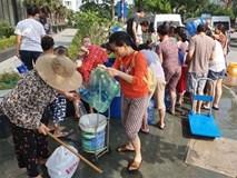 Nguồn nước sạch sông Đà bị ô nhiễm