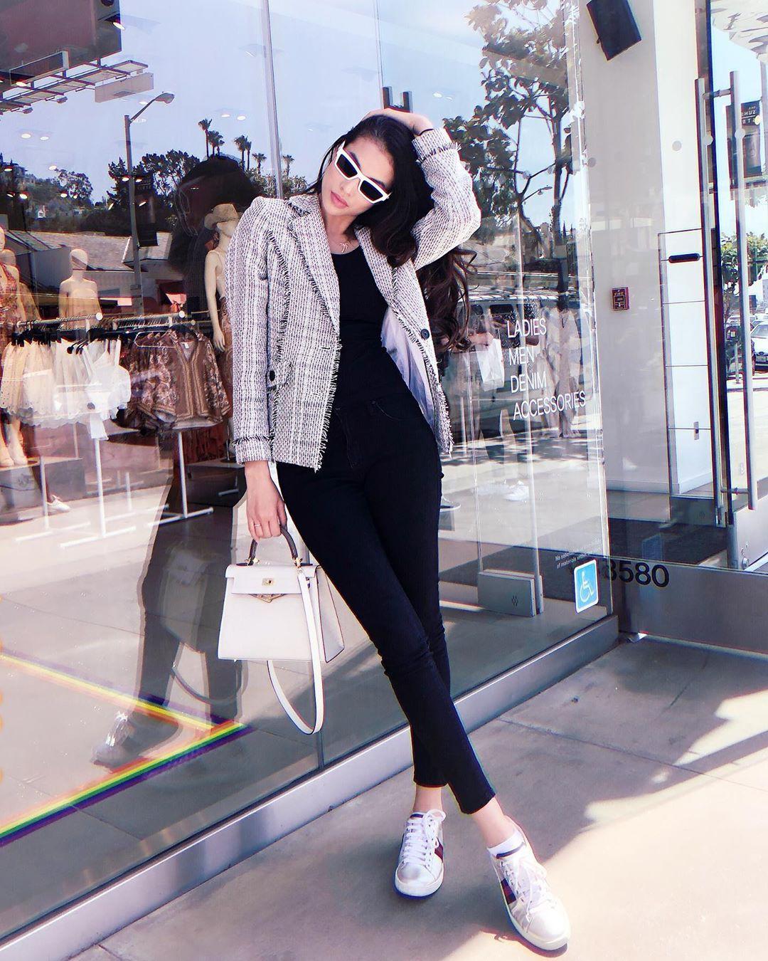 Ngắm street style của 10 sao Việt này cũng rút ra được vài kinh nghiệm mặc blazer mùa lạnh sao cho đẹp-6