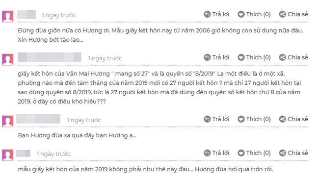 Văn Mai Hương bị bóc phốt lộ giấy đăng ký kết hôn... giả-4