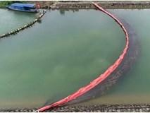 Clip: Gấp rút đặt màng lọc dầu thải, tiến hành nạo vét khu vực suối đầu nguồn của Nhà máy nước sông Đà