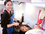 Văn Mai Hương sắp là gái có chồng: Giỏi nấu ăn thế này, ông xã chắc chắn sẽ càng mê