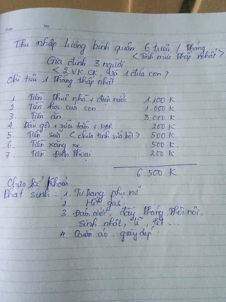 Nhà 3 người chi tiêu 6,5 triệu/tháng ở Hà Nội: Chuyện thật hay đùa?-2