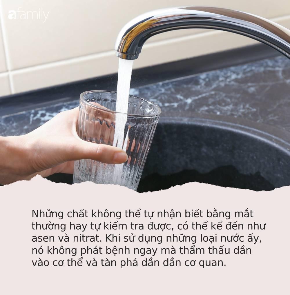 Từ vụ nước sạch ở Hà Nội nhiễm bẩn: Hãy nhìn những dấu hiệu này của nước để tự đánh giá xem nguồn nước nhà bạn an toàn hay không-4