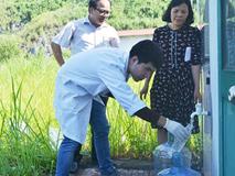 Cập nhật: Mẫu nước mới nhất tại các hộ dân và nhà máy nước Sông Đà đều đạt quy chuẩn về styren