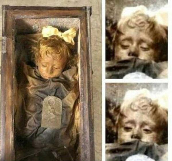 Bí ẩn về thiên thần say ngủ: Xác ướp bé gái gần trăm năm vẫn còn chớp mắt khiến ai cũng lạnh người-3
