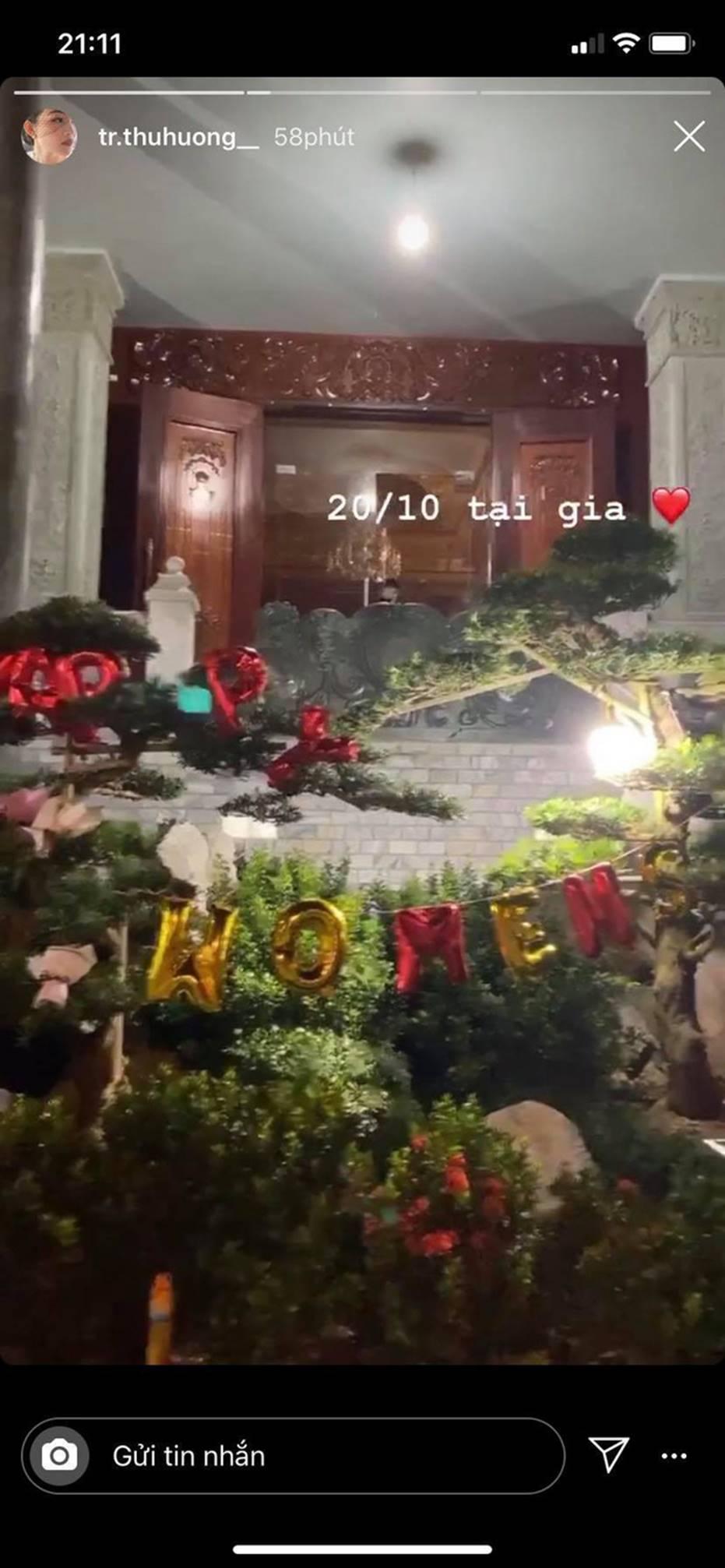 """Cô dâu 200 cây vàng"""" ở Nam Định khoe quà khủng 20/10, nhưng để ý mới thấy đang bật mí tin mừng có em bé-2"""