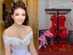 Cô dâu 200 cây vàng hé lộ hình ảnh bên trong lâu đài 7 tầng ở Nam Định, bàn ăn với bát đũa nhìn như dác vàng loá cả mắt-8