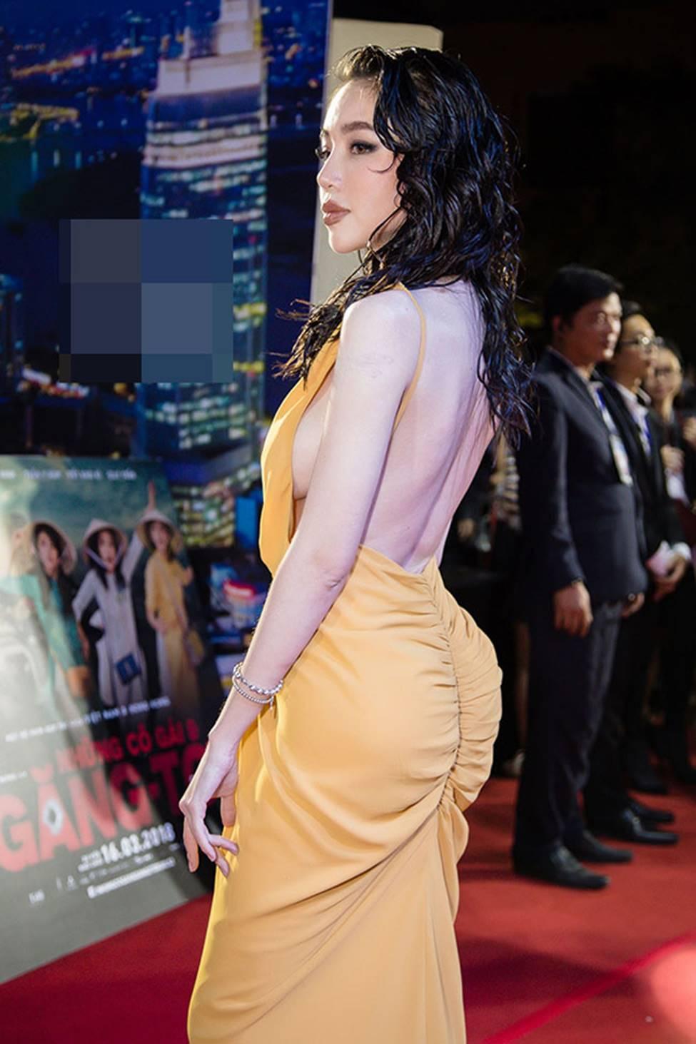 Loạt mỹ nữ showbiz Việt mặc gì phô đường cong thần thánh?-12
