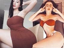 Loạt mỹ nữ showbiz Việt mặc gì phô đường cong thần thánh?