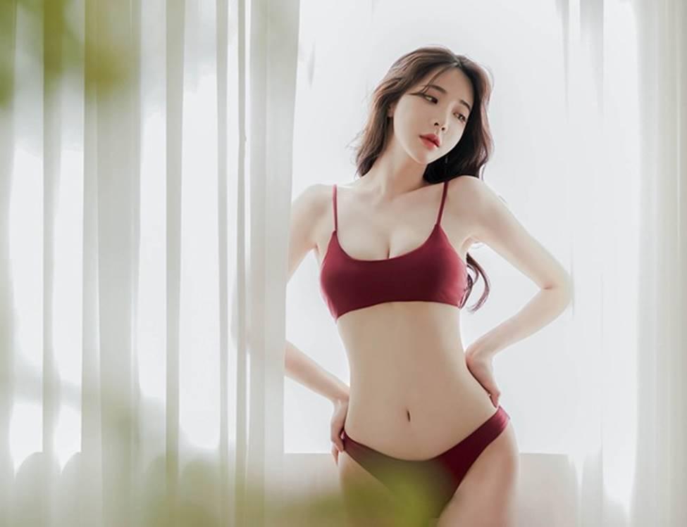 Mặt thiên thần, body ác quỷ: 2 cô gái Hàn đạt trọn thước đo phụ nữ đẹp châu Á-3