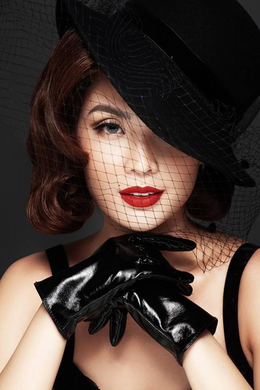 Á hậu Diễm Trang mặn mà, quyến rũ khó cưỡng với style cổ điển-1