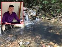 Kẻ thuê người đổ dầu thải gây ô nhiễm nước sạch sông Đà đầu thú