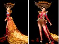 Kiều Loan mang Hội An đến Hoa hậu Hòa Bình, bật mí về chiếc váy được đính 2 nghìn bóng đèn và hơn 40 nghìn viên pha lê