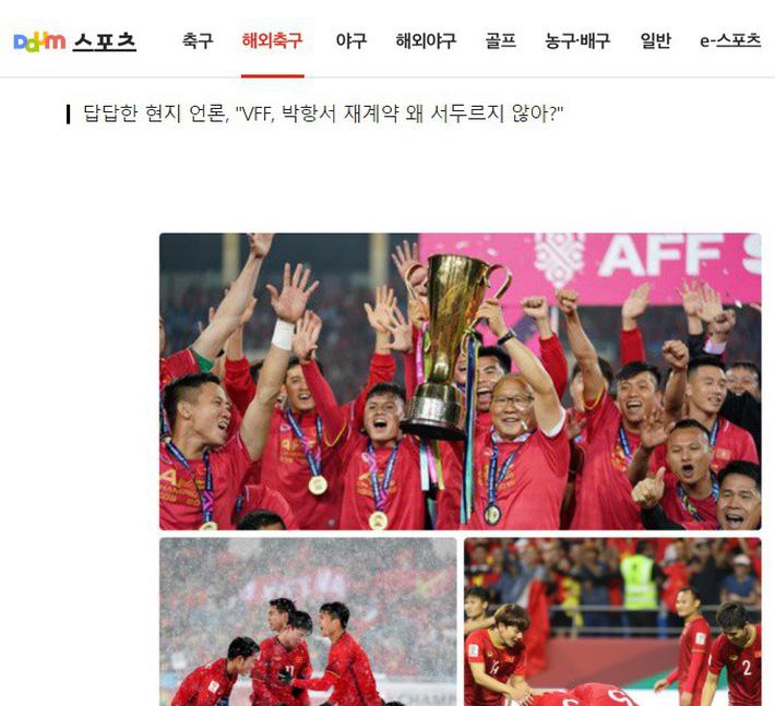 Nhiều CĐV Hàn Quốc bất ngờ kêu gọi HLV Park Hang Seo nên rời Việt Nam, tìm bến đỗ mới-2