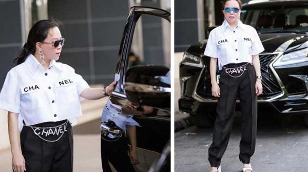 Ngược đời thật sự: Phượng Chanel đeo thắt lưng thì bị chê hết lời, mang lên cổ đeo lại có cái kết hoàn toàn khác-6