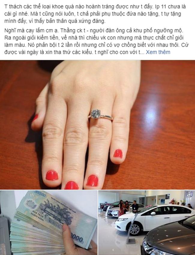 Món quà đắt nhất 20/10: Vợ gặp chồng đưa nhân tình đi chơi nhưng không thèm đánh ghen, về đập két tự thưởng-1