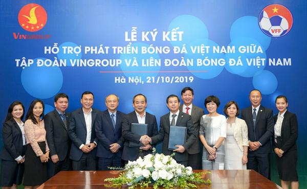 Vingroup bắt tay VFF hỗ trợ phát triển bóng đá Việt Nam-2