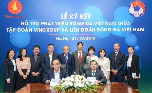 Vingroup bắt tay VFF hỗ trợ phát triển bóng đá Việt Nam-1