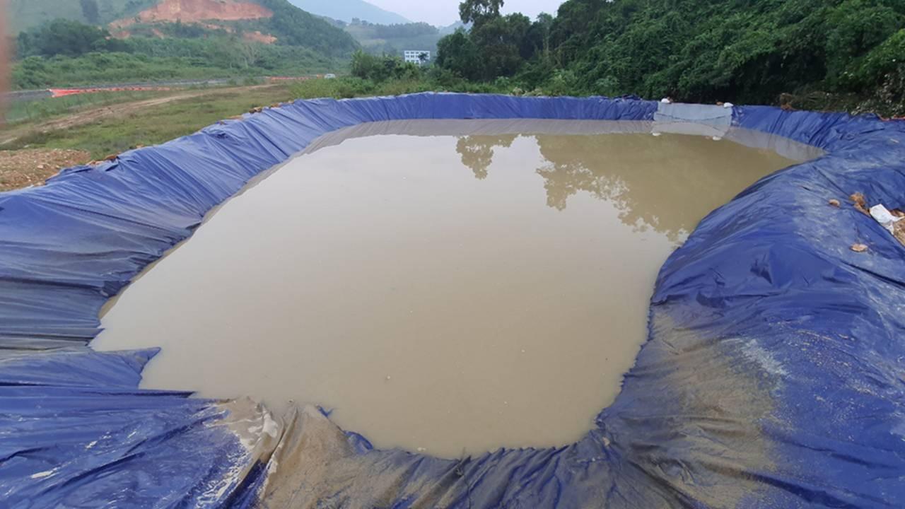 Quá trình xử lý dầu thải ở đầu nguồn nước sông Đà-5