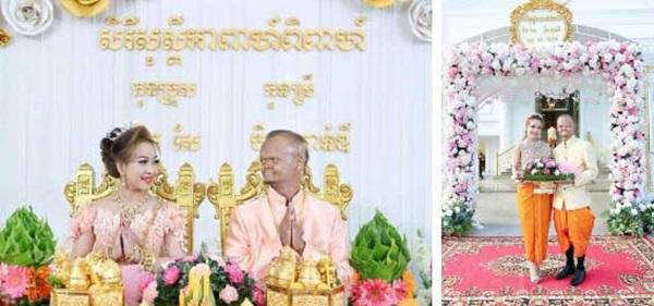 Tình yêu của cặp đôi đũa lệch nổi tiếng Campuchia đám cưới được cả con trai Thủ tướng đến dự ra sao sau hơn 1 năm kết hôn?-2